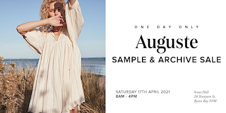 Auguste The Label - Sample Sale 2021 tickets