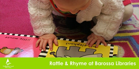 Barossa Libraries Rattle and Rhyme - April School Holidays tickets