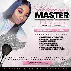 Mahagony's Master Class ; Makeup & Mimosas Edition tickets