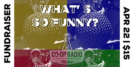 Comedy Circuitbreaker: a fundraiser for Co-Op Radio tickets