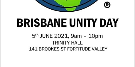 Brisbane Unity Day 2021 tickets
