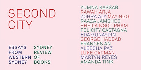 Book Launch - SECOND CITY: Essays from Western Sydney tickets