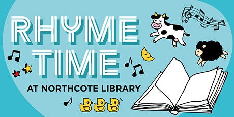 Rhyme Time at Northcote Library tickets