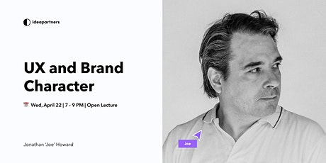 UX and Brand Character: Bringing Your Brand To Life tickets