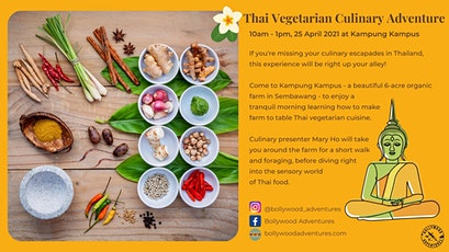 Thai Vegetarian Culinary Adventure at Kampung Kampus tickets