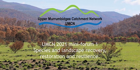 Species and landscape recovery, restoration and resilience. tickets