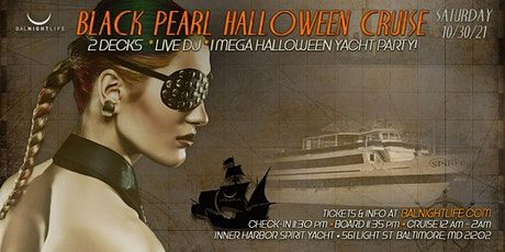 Baltimore Halloween - The Black Pearl Yacht Party tickets