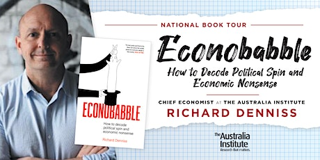 Econobabble Book Tour: Melbourne tickets