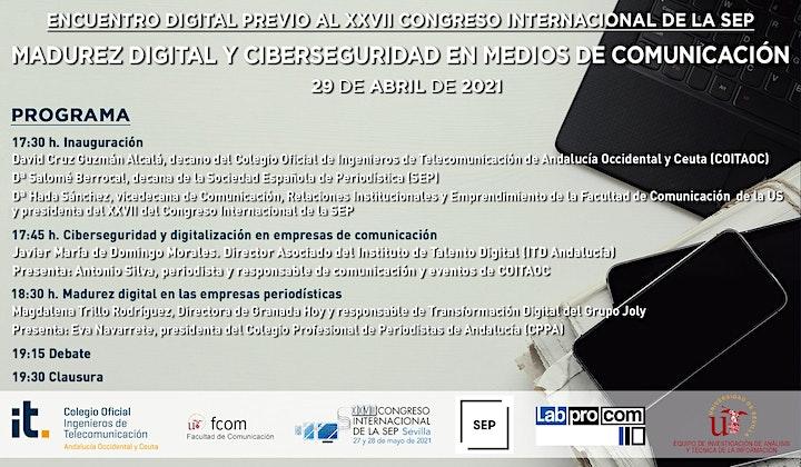 Imagen de Madurez Digital y Ciberseguridad en Medios de Comunicación