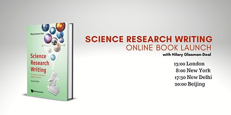 Science Research Writing (2nd ed) – Online Book Launch tickets