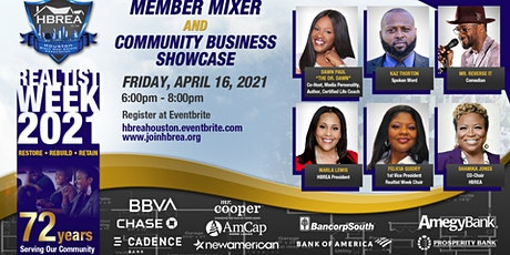 Realtist Week/Membership Mixer  & Community Business Showcase tickets