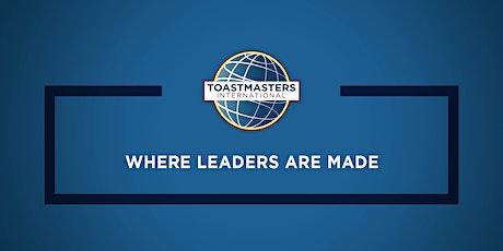 Invitation Soirée Toastmasters Club Paris les Ailes billets