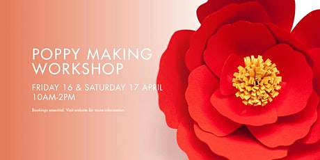 ANZAC Poppy Making Workshop tickets