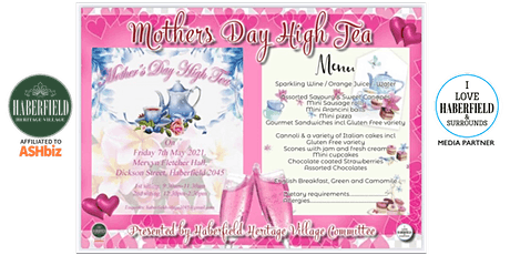 Haberfield Mother's Day High Tea tickets