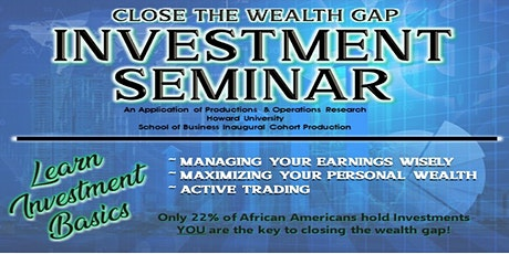 Introduction to Investing Seminar tickets