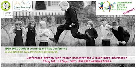 ISGA Free Webinar Series - May 2021 tickets