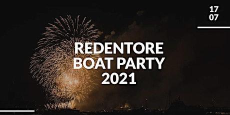 Redentore boat party 2021 biglietti