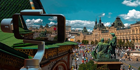 """Private Live Tour  of Moscow: Online """"Being There"""" Experience tickets"""