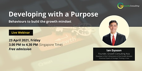 Developing with a Purpose: Behaviours to build the growth mindset tickets