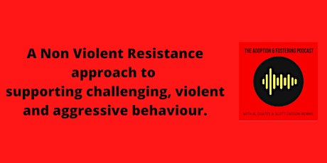 Non Violent Resistance (NVR) - supporting challenging aggressive behaviour tickets