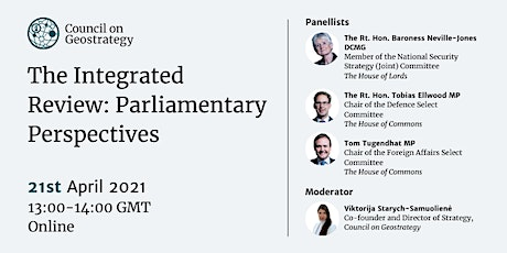 'The Integrated Review: Parliamentary Perspectives' tickets