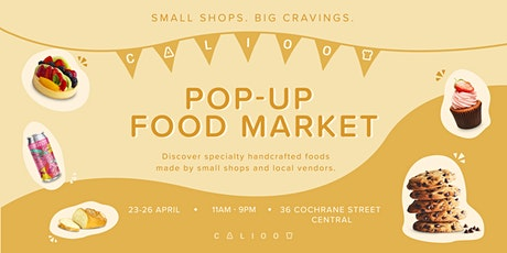 Pop-Up Food Market by Calioo tickets