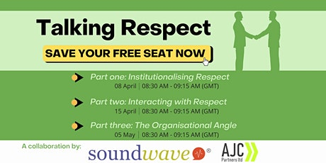 Talking Respect - Part 2 and Part 3 tickets