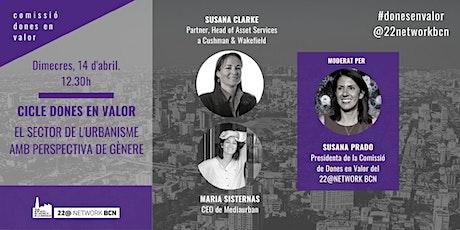 Cicle Dones en Valor: El sector de l'urbanisme amb perspectiva de gènere boletos
