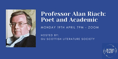 Guest Speaker: Professor Alan Riach tickets