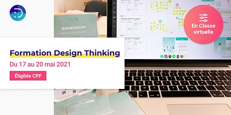 [ Formation à distance - Design Thinking certifiante ] billets