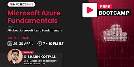 FREE Bootcamp – Microsoft Azure Fundamentals tickets