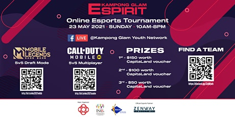 E-Kampong Spirit 2021 - Mobile Legends Online Tournament tickets