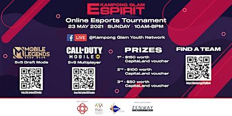 E-Kampong Spirit 2021 - Call of Duty: Mobile Online Tournament tickets