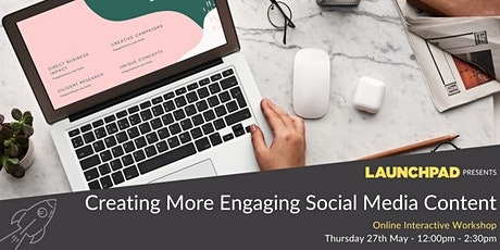 Creating Engaging Social Media Content tickets