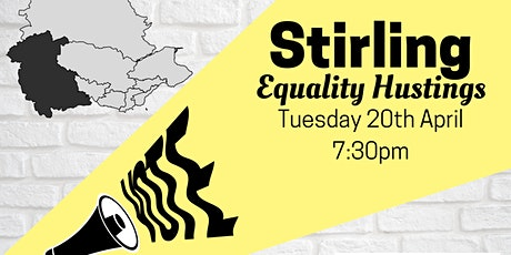 Stirling - Equality Hustings tickets