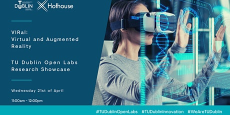 TU Dublin Open Labs presents the Virtual Interactive Research Lab (VIRal) tickets