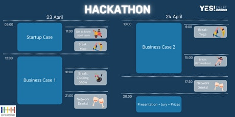 YES!Delft Students Hackathon: Can you crack the Business Case? tickets
