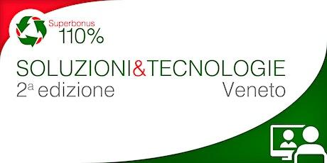 LiVEonWEB | Superbonus VENETO:  aggiornamenti e soluzioni tecniche biglietti