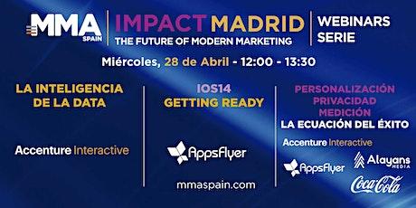 MMA SPAIN IMPACT MADRID - WEBINAR SERIE - 28 de abril 2021 entradas