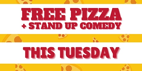 Free Pizza + Comedy This Tuesday @ Tabac Bar tickets