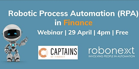 Robotic Process Automation in Finance tickets