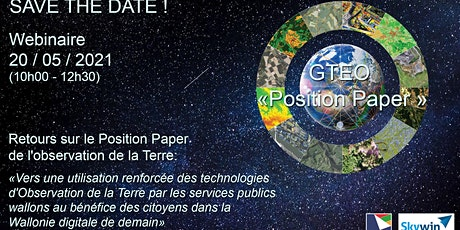 GTEO - Retours sur le Position Paper de l'observation de la Terre tickets