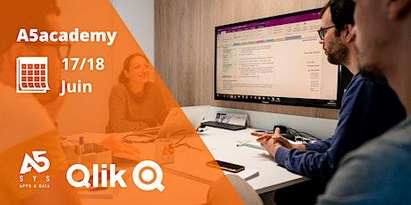 A5academy - Montez en compétences en vous formant à Qlik Sense Designer billets