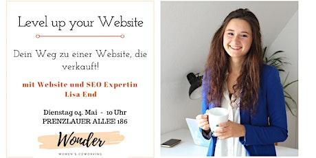 Level up Your Website – Dein Weg zu einer Website, die verkauft tickets