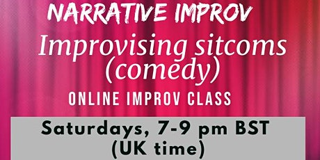 Narrative improv - Improvising sitcoms tickets