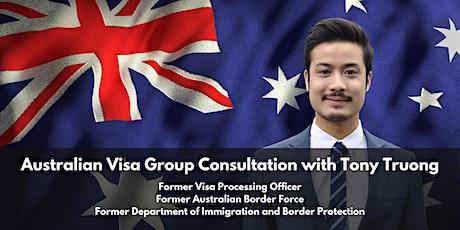Australian Visa Group Consultation with Tony Truong tickets