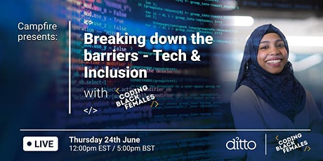 Campfire presents: Breaking down the barriers - with Coding Black Females tickets