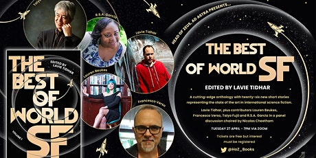 THE BEST OF WORLD SF Anthology Panel Discussion tickets