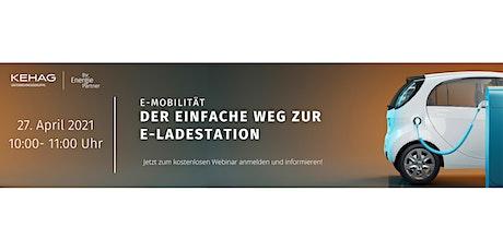 E-Mobilität- Der einfache Weg zur E-Ladestation Tickets