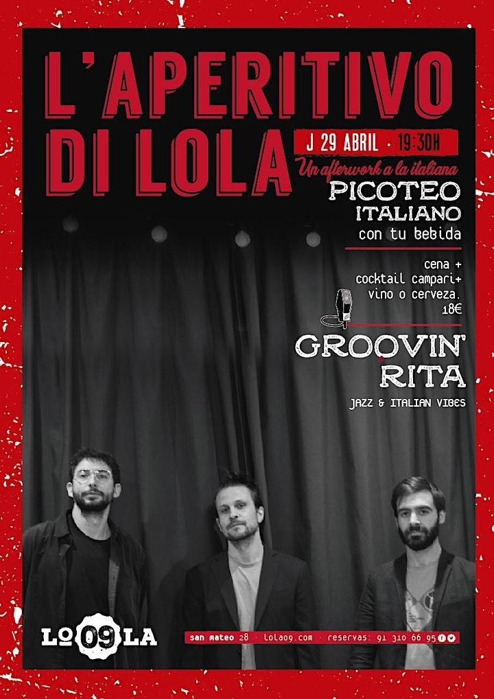 Imagen de L'Aperitivo di Lola - Groovin' Rita, jazz en vivo